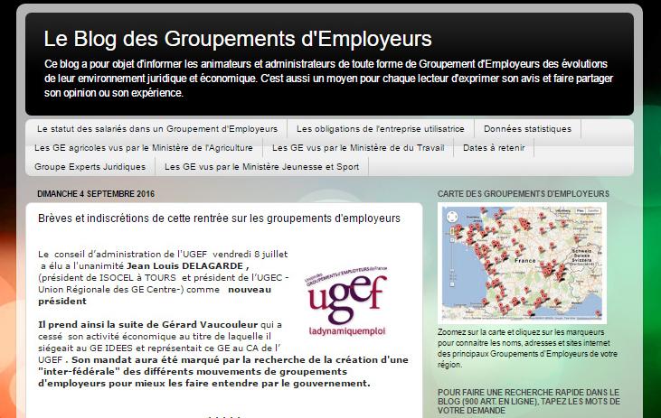 Le Blog des Groupements d'Employeurs